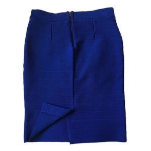 NWOT🔺BONGO•Royal Blue Pencil Skirt